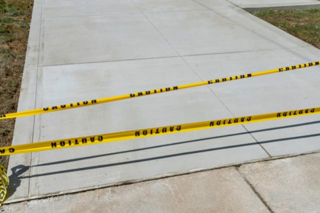New Concrete Driveway in Portland